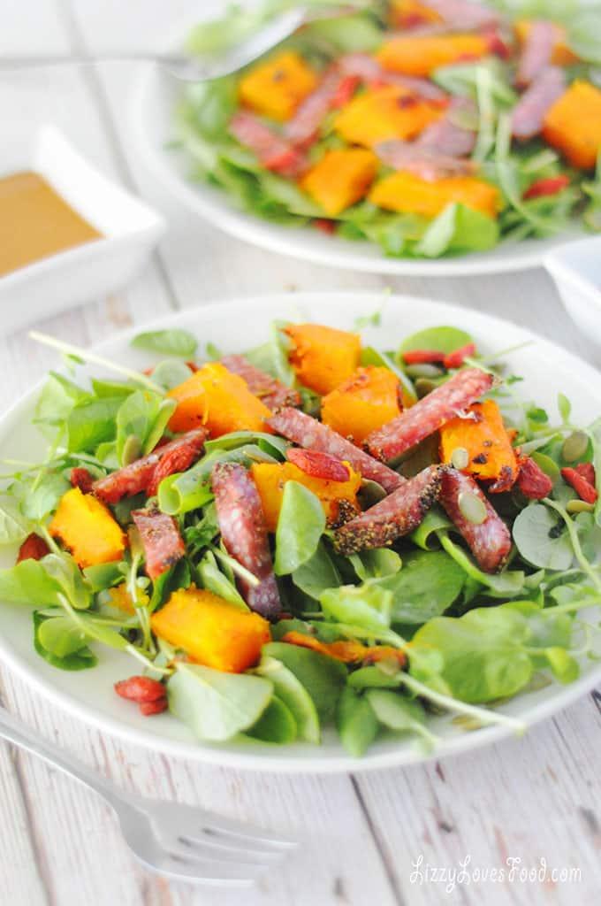 Low-Carb Butternut Squash Salad