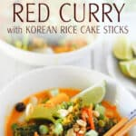 Recipe for Red Vegan Curry