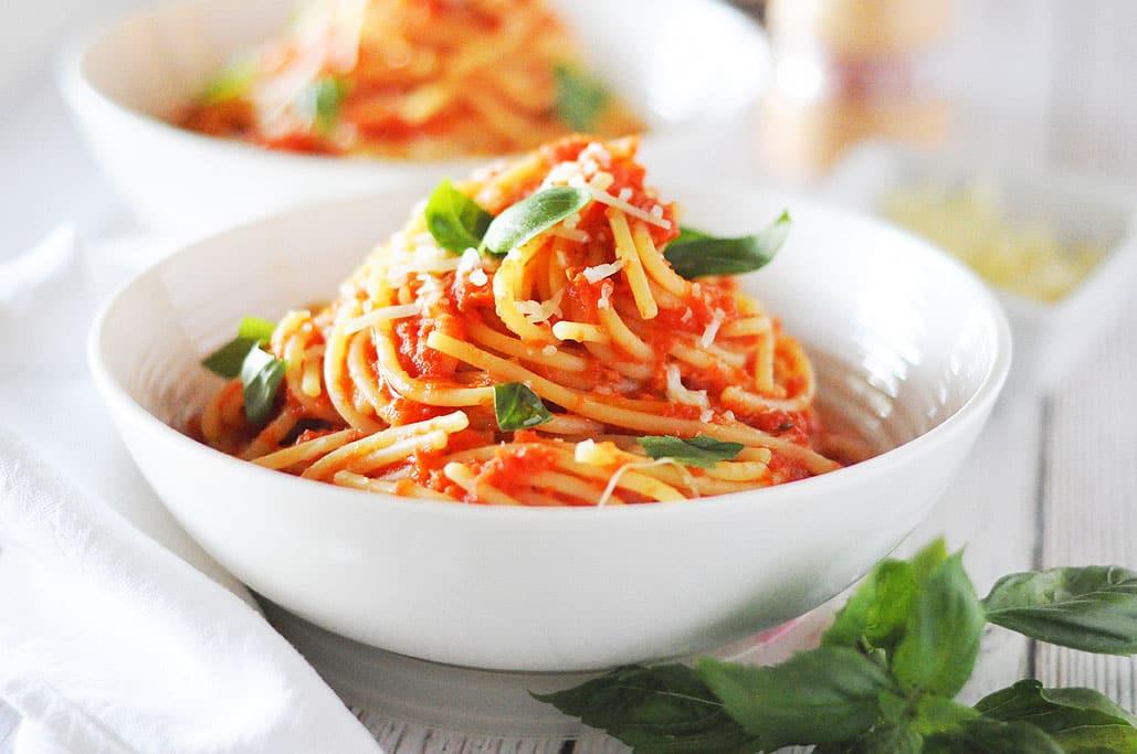 spagetti dish