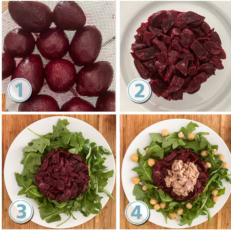Step By Step beets salad